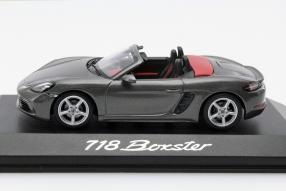 model car Porsche 718 Boxster scale 1:43