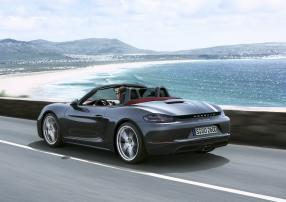 Ab April im Handel: Porsche 718 Boxster