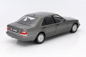 model car Mercedes-Benz S 600 scale 1:18