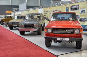 Toyota auf der Retro Classics 2016