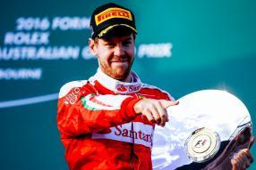 Sebastian Vettel beim Saisonauftakt in Melbourne 2016