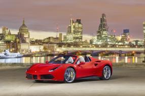 Ferrari 488 Spider Launch in London