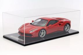 model car Ferrari 488 GTB scale 1:18