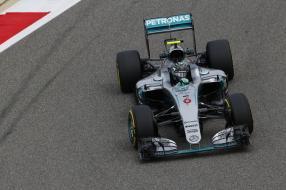 Nico Rosberg Bahrain 2016