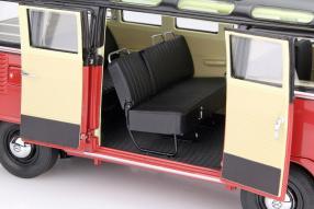 model car VW Bus Samba T1 scale 1:18