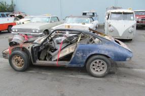 Porsche 911 2,5 S/T 1972 im Fundzustand