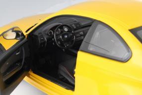 model car BMW 1er M Coupé scale 1:18