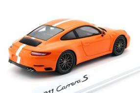 Modellauto Porsche 911 / 991 Carrera S Tennis Grand Prix 2016 1:43