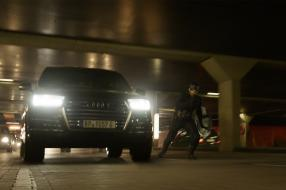 Chris Evans im Audi SQ7