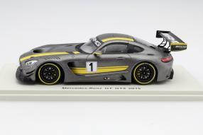 model car new Mercedes-AMG GT3 scale 1:43