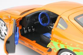 Toyota Supra Brian The Fast and the Furious 1:18