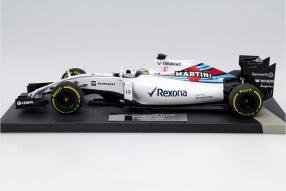 Williams F1 FW37 2015 Felipe Massa 1:18