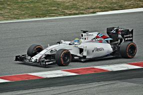 Felipe Massa in Williams FW37 2015 Barcelona Test Day
