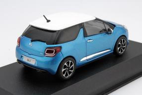 model car DS 3 2016 scale 1:43