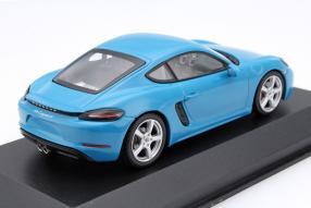 model Porsche 718 Cayman scale 1:43