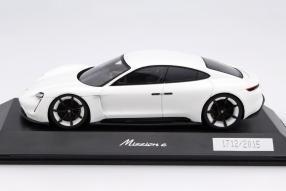 model car Porsche Mission E scale 1:43
