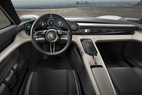 Porsche Mission E Interieur / Interiour