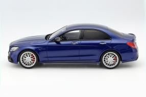 model car Mercedes-AMG C 63 S scale 1:18
