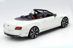 model car Bentley Continental GT V8 S Cabriolet scale 1:18