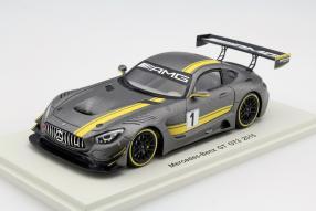 Modellauto Mercedes-AMG GT3 Presentation Car 2016 1:43