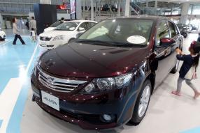 Toyota Allion G-Plus package by Tokumeigakarinoaoshima
