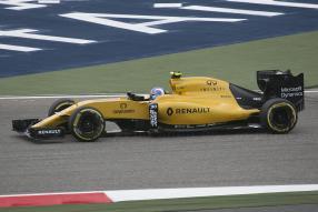 Renault Formel 1 2016 in Bahrain