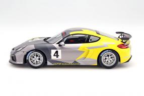Modellauto Porsche Cayman GT4 Clubsport 1:18