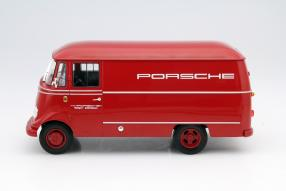 model car Mercedes-Benz L 319 scale 1:18 by Norev