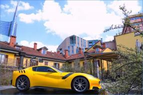 model car Ferrari F12 tdf scale 1:18