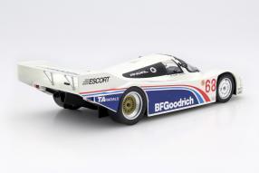 Model car Porsche 962 BF Goodrich scale 1:18