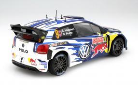 model car VW Polo R WRC 2015 scale 1:18
