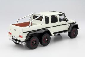 model car G 63 AMG 6x6 scale 1:18