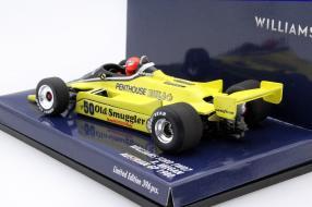Modellauto Williams FW07 1980 Maßstab 1:43