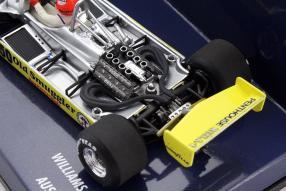 Model car Williams FW07 1980 scale 1:43