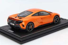 model car McLaren 675 LT scale 1:18