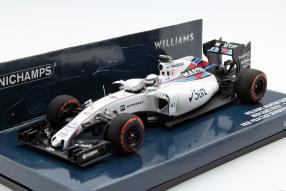model car Williams FW37 F1 2015 Susie Wolff 1:43