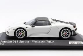 Modellauto Porsche 918 Weissach Paket 1:43