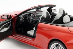 Modellauto BMW M4 Cabriolet Maßstab 1:18