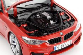 model car BMW M4 Cabriolet scale 1:18