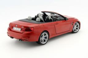 Werbemodell BMW M4 Cabriolet 1:18