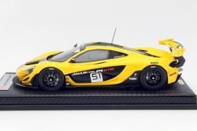 model car McLaren P1 GTR scale 1:18 limited