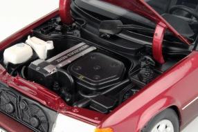 model car Mercedes-Benz E-Klasse Cabriolet scale 1:18 A 124