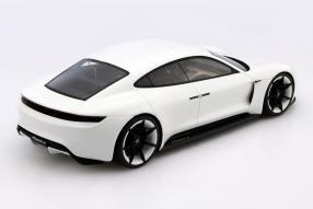 model car Porsche Mission E scale 1:18