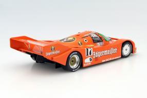 Model car Porsche 962 scale 1:18 Brun Jägermeister