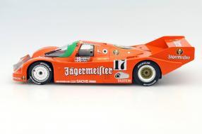 Modellauto Jägermeister Porsche 962 Maßstab 1:18