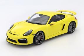 Porsche Cayman GT4 1:18 Schuco