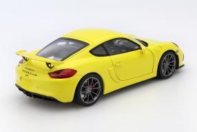 Modelcar Porsche Cayman GT4 scale 1:18 Schuco