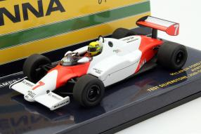 McLaren MP4/1 Ayrton Senna Test