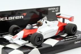 McLaren MP4/1 Stefan Bellof Test 1:43