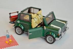 model car Lego Mini Cooper